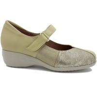 Zapatos Mujer Bailarinas-manoletinas Gasymar 2994 Beig