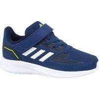 Zapatos Niños Derbie & Richelieu adidas Originals Runfalcon 20 Azul marino