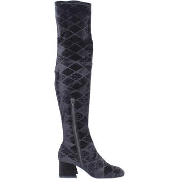 Zapatos Mujer Botas a la rodilla Apepazza BJ801 Negro