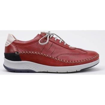 Zapatos Hombre Derbie Fluchos  Rojo