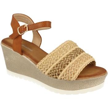 Zapatos Mujer Sandalias Festissimo F20-55 Beige