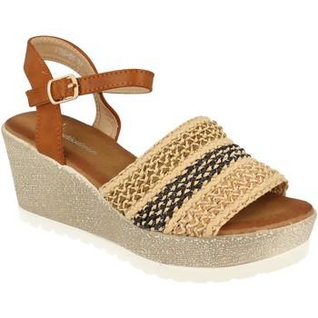 Zapatos Mujer Sandalias Festissimo F20-55 Camel