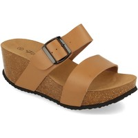 Zapatos Mujer Zuecos (Mules) Silvian Heach M-08 Taupe