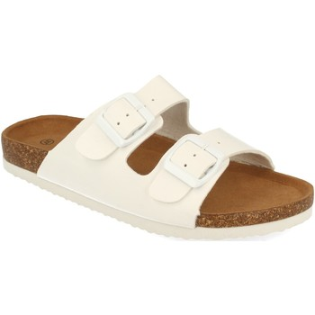 Zapatos Mujer Zuecos (Mules) Ainy M311 Blanco