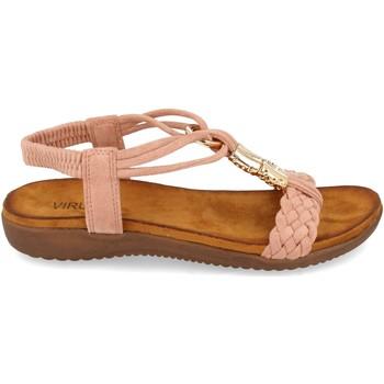 Zapatos Mujer Sandalias Clowse VR1-261 Rosa