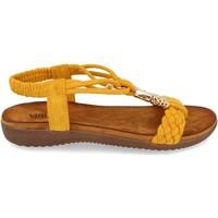Zapatos Mujer Sandalias Clowse VR1-261 Amarillo