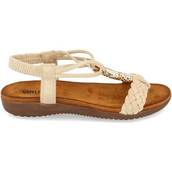 Zapatos Mujer Sandalias Clowse VR1-261 Beige