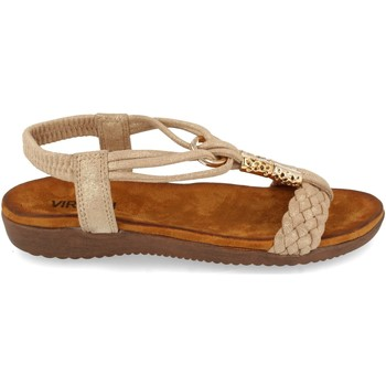 Zapatos Mujer Sandalias Clowse VR1-261 Kaki