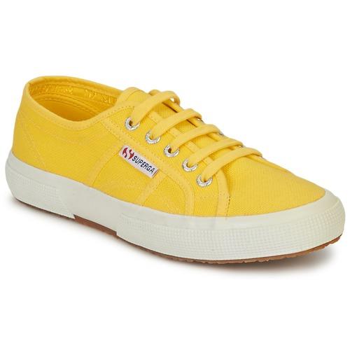 Zapatos Mujer Zapatillas bajas Superga 2750 CLASSIC Amarillo