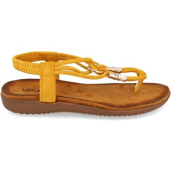 Zapatos Mujer Sandalias Clowse VR1-260 Amarillo