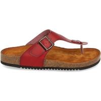 Zapatos Mujer Sandalias Clowse VR1-267 Rojo