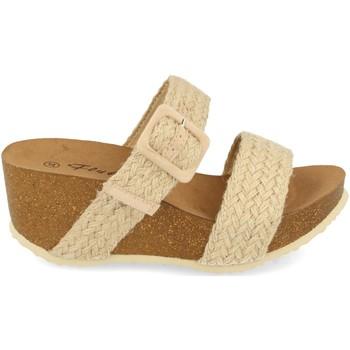 Zapatos Mujer Sandalias Ainy M183 Beige