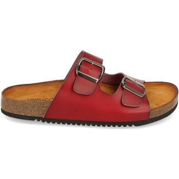 Zapatos Mujer Sandalias Clowse VR1-268 Rojo