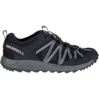 Zapatos Hombre Zapatillas bajas Merrell Wildwood Aerosport Grises, Grafito