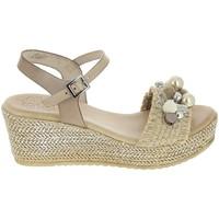 Zapatos Mujer Sandalias Porronet Sandale F12646 Taupe Gris
