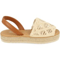 Zapatos Mujer Sandalias Milaya 3S16 Beige