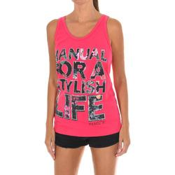 textil Mujer Tops y Camisetas Met Camiseta de tirantes Rosa