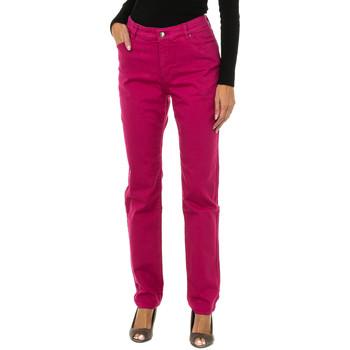 textil Mujer Vaqueros slim Armani jeans Pantalones largos Rosa