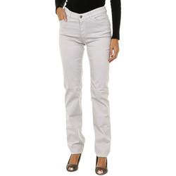 textil Mujer Vaqueros slim Armani jeans Pantalones largos Gris