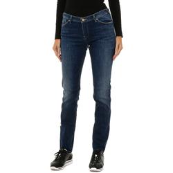 textil Mujer Vaqueros rectos Armani jeans Pantalones largos Azul