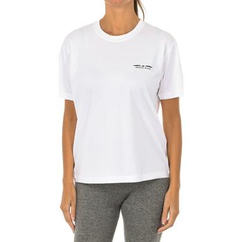 textil Mujer Camisetas manga corta Armani jeans Camiseta manga corta Blanco