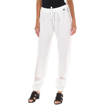 textil Mujer Pantalones Met Pantalon Largo Blanco