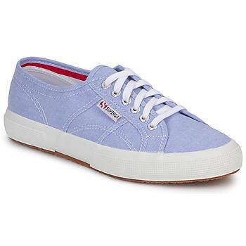 Zapatos Zapatillas bajas Superga 2750 COTUSHIRT Azul / Claro