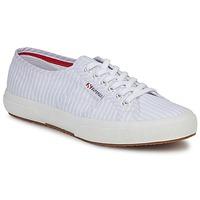 Zapatos Zapatillas bajas Superga 2750 COTUSHIRT Blanco / Azul