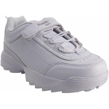 Zapatos Niña Zapatillas bajas Bubble Bobble Deporte niña  a3225 blanco Blanco