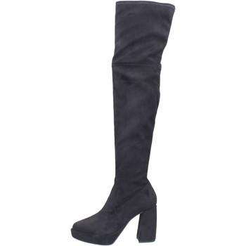 Zapatos Mujer Botas a la rodilla Elvio Zanon BJ810 Negro