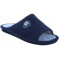Zapatos Hombre Pantuflas Garzon Ir por casa caballero  p380.130 azul Azul