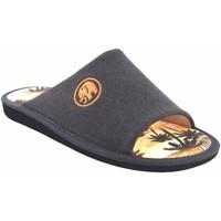 Zapatos Hombre Pantuflas Garzon Ir por casa caballero  p381.127 marron Marrón