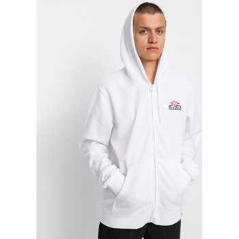 textil Hombre Sudaderas Element Medwell Zip Hooded Optic White