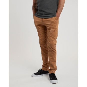 textil Hombre Pantalones chinos Element Howland Classic Chino Bronco Brown