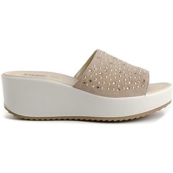 Zapatos Mujer Sandalias Imac 707700 Beige