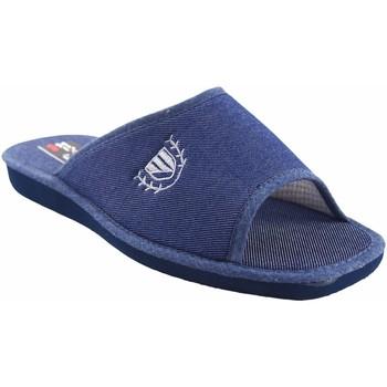Zapatos Hombre Zuecos (Mules) Berevere Ir por casa caballero  v 7004 azul Azul