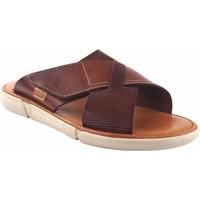 Zapatos Hombre Zuecos (Mules) Vivant Sandalia caballero  19186 marron Marrón