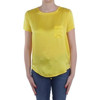 textil Mujer Tops / Blusas Manila Grace C335SU Amarillo