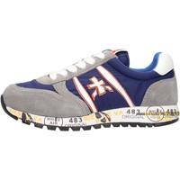 Zapatos Niño Zapatillas bajas Premiata - Sneaker grigio/blu 12-38003 GRIGIO-BLU