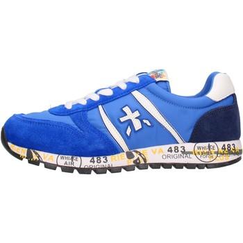 Zapatos Niño Zapatillas bajas Premiata - Sneaker azzurro 12-38001 AZZURRO