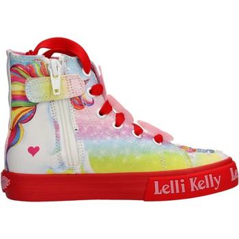 Zapatos Niña Zapatillas altas Lelli Kelly - Unicorn multi rosso LK 9099-BD02 ROSA