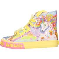 Zapatos Niña Zapatillas altas Lelli Kelly - Unicorn multi giallo LK 9090-BQ02 GIALLO
