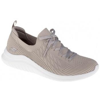 Zapatos Mujer Multideporte Skechers Ultra Flex 2.0 Flash Illusion beige
