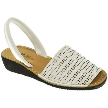 Zapatos Mujer Sandalias Duendy MENORQUINA SRA   BLANCO Blanco