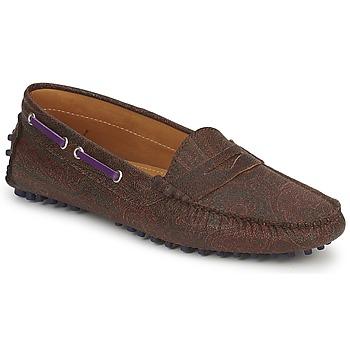 Zapatos Mujer Mocasín Etro MOCASSIN 3706 Violeta