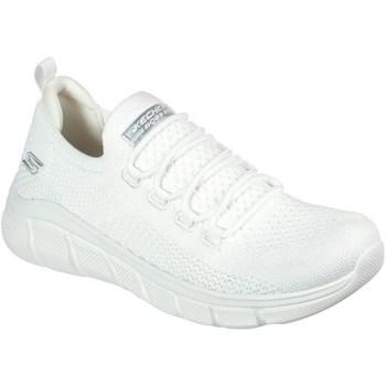 Zapatos Mujer Zapatillas bajas Skechers Bobs Sport B Flex Blanco