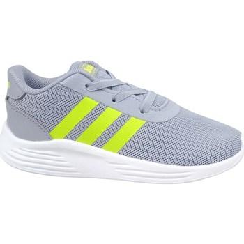Zapatos Niños Zapatillas bajas adidas Originals Lite Racer 2 Grises, Verde claro