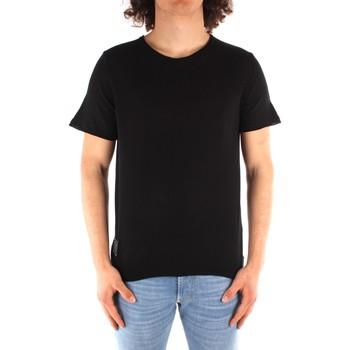 textil Hombre Camisetas manga corta Blauer 21SBLUM01319 NEGRO