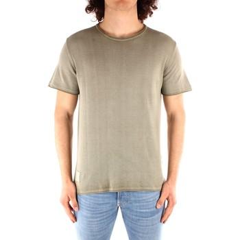 textil Hombre Camisetas manga corta Blauer 21SBLUM01319 VERDE
