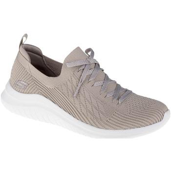 Zapatos Mujer Zapatillas bajas Skechers Ultra Flex 2.0 Flash Illusion Beige